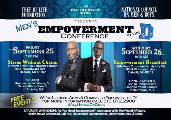 Men Empowerment Conference Flyer